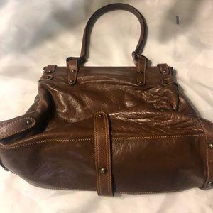 Fendi Bags - Authentic Fendi Ruched Leather Shoulder Bag